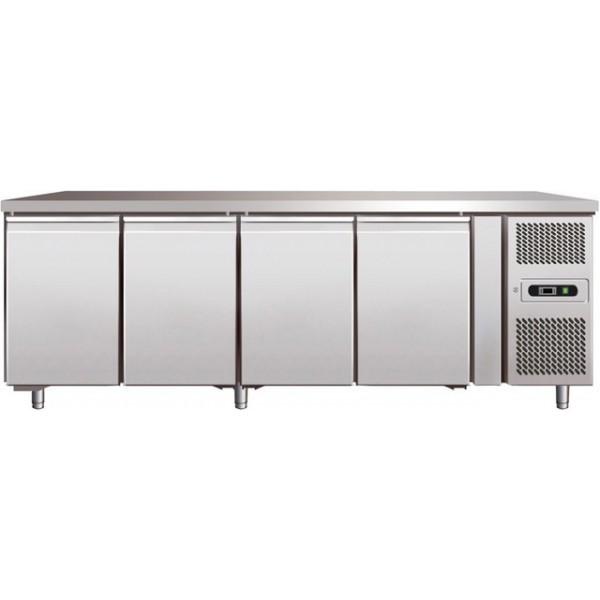Table réfrigérée inox