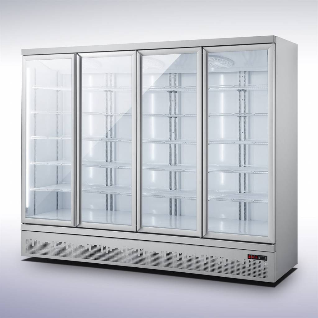 vitrine réfrigérée supermarché